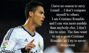 Inspirational Quotes by Cristiano Ronaldo – Top Seven