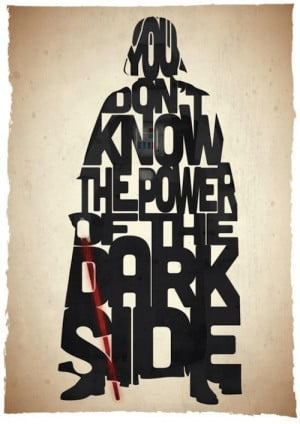 ... based on well-known Star Wars quotes from The Empire Strikes Back