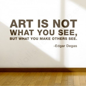 Art Wall Quote in the living room #WallsNeedLove