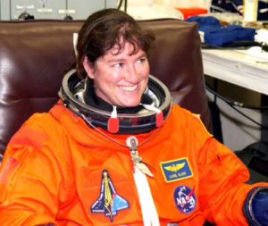 Laurel Clark has perished by explosion in Space Shuttle Columbia