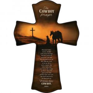 The Cowboy Prayer Cross