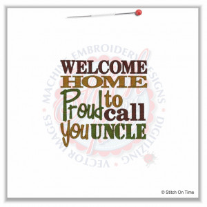 Uncle Sayings 4884 sayings : proud to