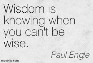 Quotes of Paul Engle