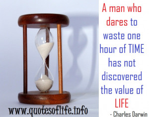 discovered the value of life Charles Robert Darwin life picture quote ...