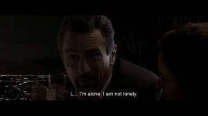 alone I am not lonely