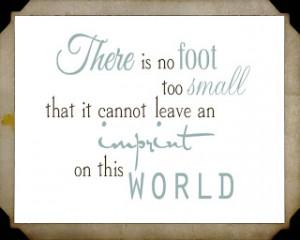 Tiny Baby Feet Quotes