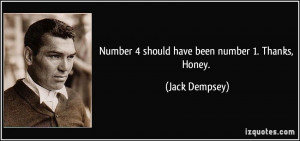 More Jack Dempsey Quotes