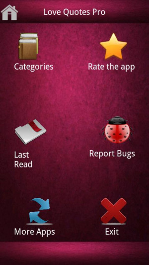 Love Quotes and Statuses (PRO) - screenshot