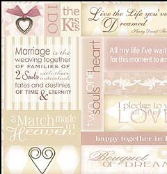 Gorgeous scrapbooking paper for wedding , romance, anniversary and ...