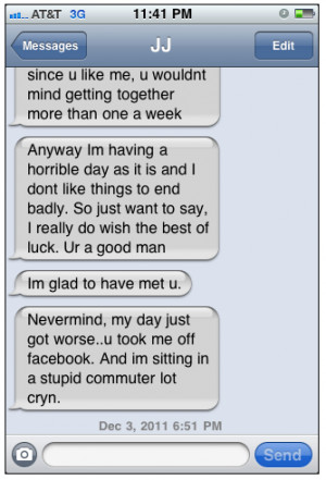 This Crazy Girl's Texting Tops Them All