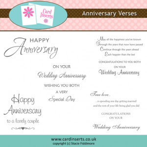 larger image dd anniversary verses £ 0 99 anniversary card