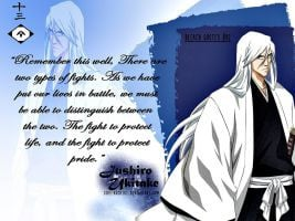 Bleach quotes #02 : Jushiro Ukitake by ishi-kuchiki