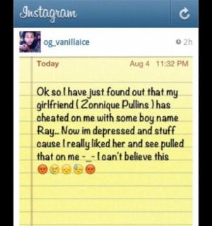 ... Behavior Star's from the OMG GIRLZ boyfriend wrote this on instagram