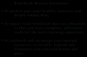 Rich Earth Mission Statement