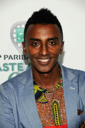 Marcus Samuelsson is an Ethiopian-born chef, owner of Red Rooster ...