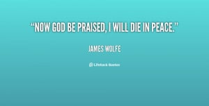 james wolfe quotes and sayings