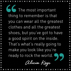 Alicia Keys Quotes...