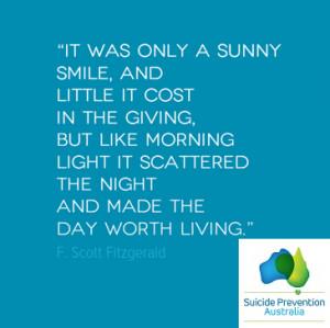 Quotes About Suicide Prevention Suicide prevention australia