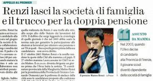 Altri scheletri nell 'armadio di Matteo Renzi li ricorda