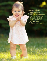 """Treading Always in the Paths of Joy and Love"""" – Montessori Word ..."""