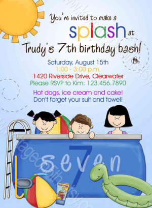, birthday, party, adult, surprise, 1st, 2nd, 3rd, 4th, 5th, pool ...