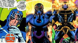 Metron, Darkseid and Thanos