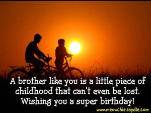 Birthday Greetings and Birthday Quotes for Brothers: Birthday Quotes ...