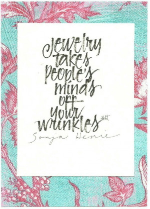 jewelry #wrinkles #quotes
