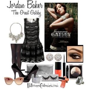 Great Gatsby fashion inspiration – Jordan Baker #flapper #1920s
