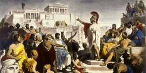 athens some of the advantages of genuine democracy are immediately