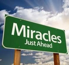 Miracles just ahead sign quote via Miracle on Kentucky Avenue at www ...