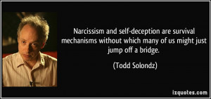 Funny Quotes About Narcissism