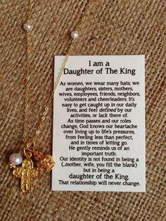 ... Vermeil Cross Crown, Graduation, Daughter, Sister, Mother, Friend Gift