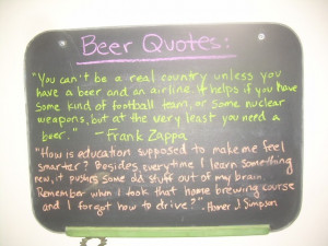 New Belgium Brewing the beer quotes from the self guided tour