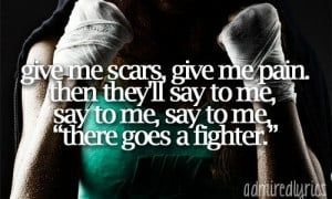 The Fighter ~ Gym Class Heroes ft. Ryan Tedder