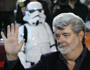 There's George Lucas, Director & Producer of the infamous Star Wars ...