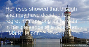 Favorite Mark Helprin Quotes