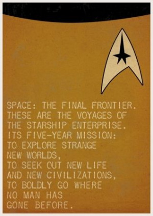 Movie Quote Posters by Ewan Arnolda - Spock and Captain Kirk (Star ...
