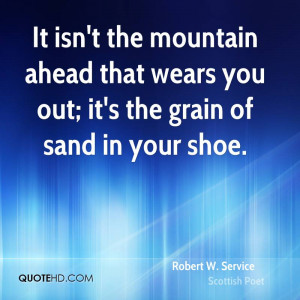 Robert W. Service Quotes