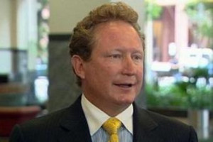 Iron ore magnate Andrew Forrest has more than doubled his wealth to ...
