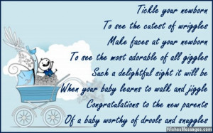 ... On Your New Baby Boy Quotes Congratulations for new baby