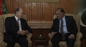 ... Aga Khan, Monday called on President Mamnoon Hussain at Aiwan-e-Sadr