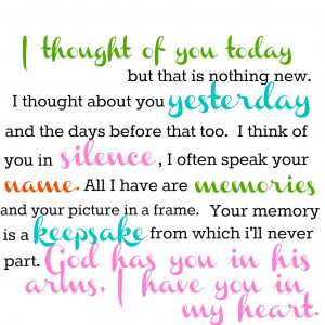 Grandmother Passed Away Quotes http://www.naptimeisthenewhappyhour.com ...
