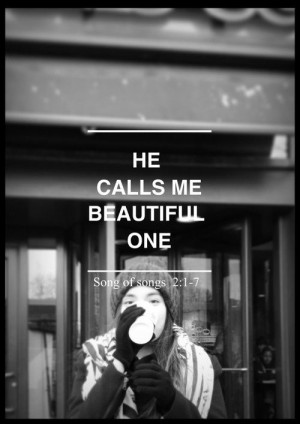 He Calls Me Beautiful One | Godly Quotes