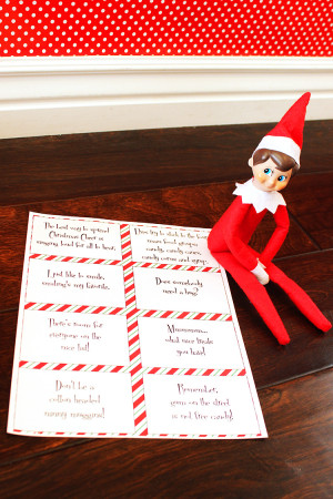 395905675-elf4 Elf On Shelf Arrival Letter Template Blank on am late, santa first time,