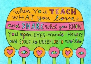 ... teaching a child is to enable him to get along without a teacher