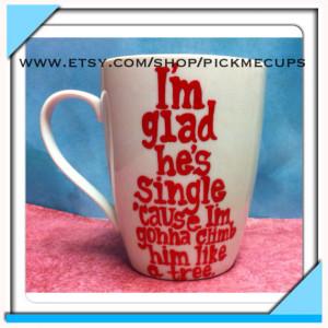 Bridesmaids movie quotes funny handpainted coffee mug