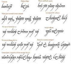 Phrase Translator For The Elvish Font Arabic Words Or Pictures