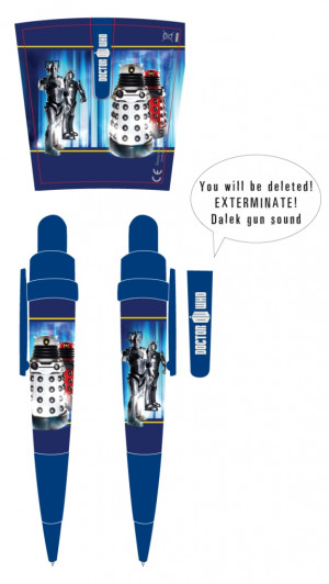 pen featuring memorable quotes from the doctor who series this pen is ...