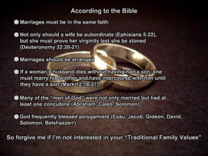 according to bible Marriage: According to the Bible